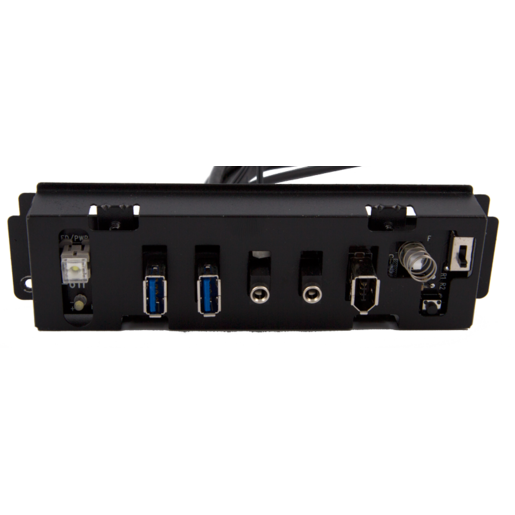 Carbide 500R Case - Front I/O Panel (All cables and connectors)