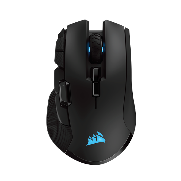 CORSAIR IRONCLAW RGB WIRELESS Gaming Mouse, Wireless, Backlit RGB LED, 18000 DPI, Optical, Refurbished