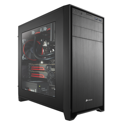 Obsidian Series™ 350D Windowed Micro ATX PC Case (Refurbished)