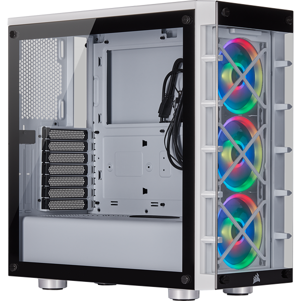 iCUE 465X RGB Mid-Tower ATX Smart Case — White