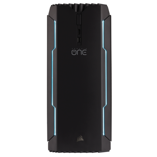 PC compacto para jogos CORSAIR ONE PRO – Intel Core i7-7700K, NVIDIA GeForce GTX 1080 Ti, 16GB DDR4-2400, 480GB SSD, 2TB HDD (EU)