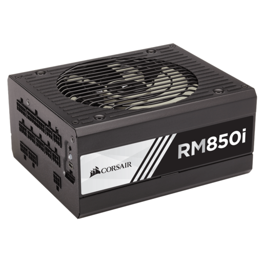 RMi Series™ RM850i — 850 Watt 80 PLUS® Gold Certified Fully Modular PSU (NA) (Refurbished)