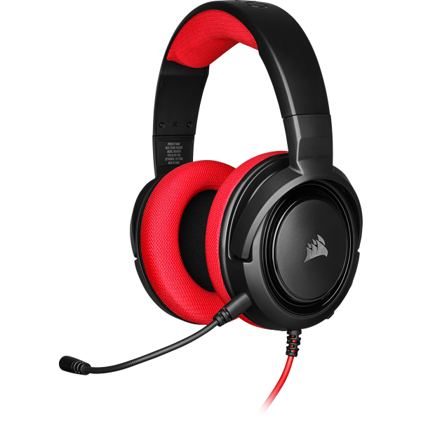 HS35 Stereo Gaming Headset — Red (EU)