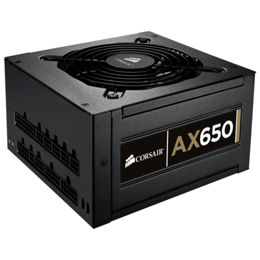 Professional Series™ Gold AX650 — Fully-Modular Power Supply