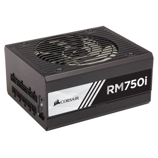 RMi Series™ RM750i — 750 Watt 80 PLUS® Gold Certified Fully Modular PSU