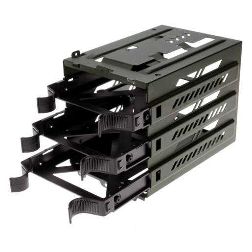 VENGEANCE Series™ C70 HDD Cage with three (3) HDD trays Green