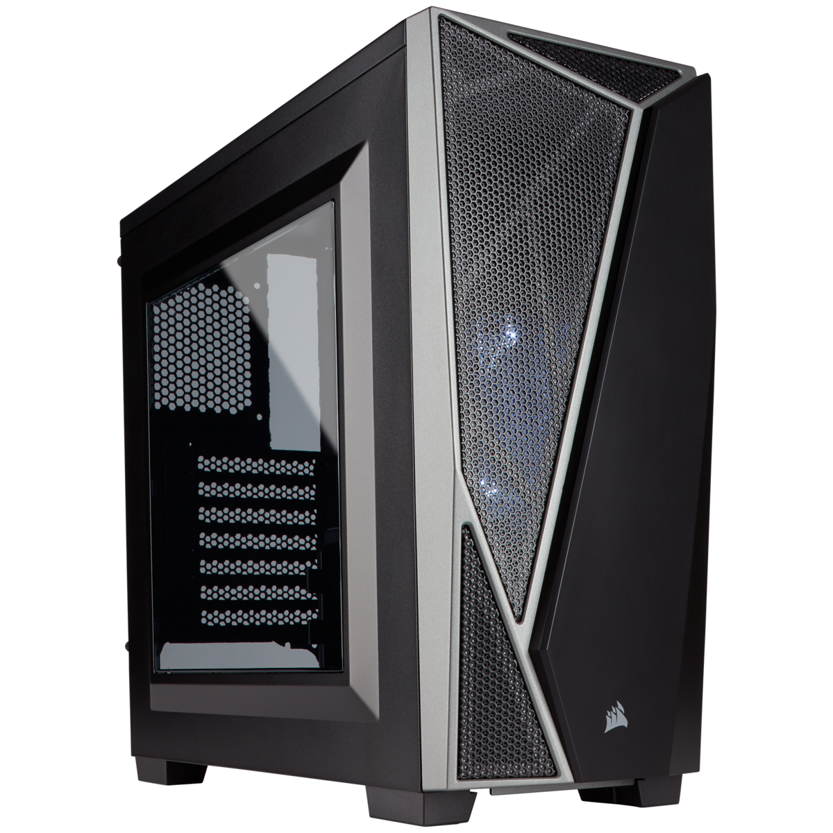Boîtier Corsair gaming moyen-tour Carbide Series™ SPEC-04 — Noir/Gris