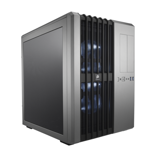 Gabinete para PC com alto fluxo de ar prata Carbide Series™ Air 540