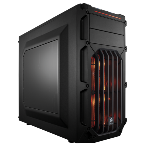 Carbide Series™ SPEC-03 Orange LED Mid-Tower Gaming Case