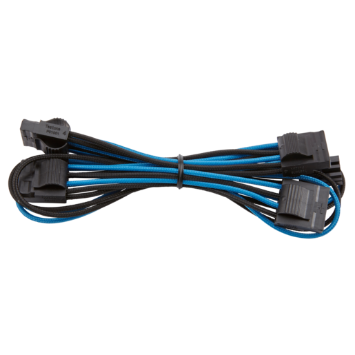 Premium Individually Sleeved Peripheral Cable, Type 4 (Generation 3) - Blue/Black