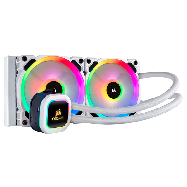 Hydro Series™ H100i RGB PLATINUM SE 240mm 水冷式 CPU クーラー