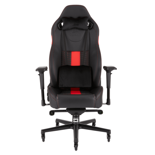T2 ROAD WARRIOR Gaming Chair — Black/Red