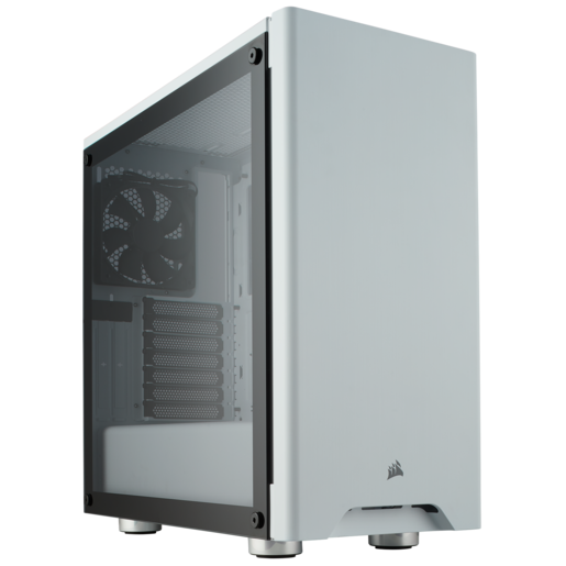 Carbide Series 275R Tempered Glass Mid-Tower Gaming Case — White