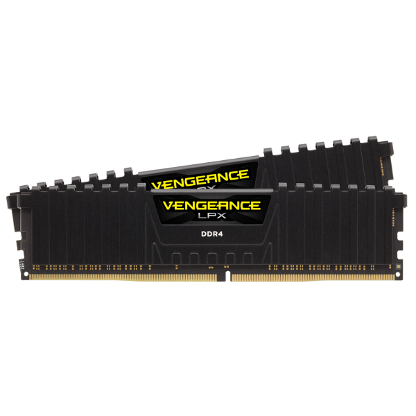 VENGEANCE® LPX 32GB (2 x 16GB) DDR4 DRAM 3000MHz C16 Memory Kit - Black