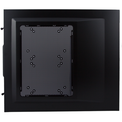 Carbide 500R Case - Left Side Panel (Metallic grey, side panel, left, with fan holes for 120mm and 140mm fans)