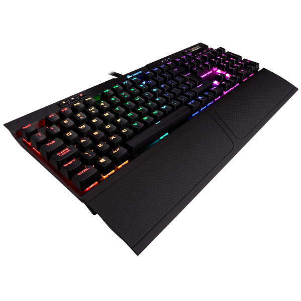 K70 RGB MK.2 Mechanical Gaming Keyboard — CHERRY® MX Silent (UK)
