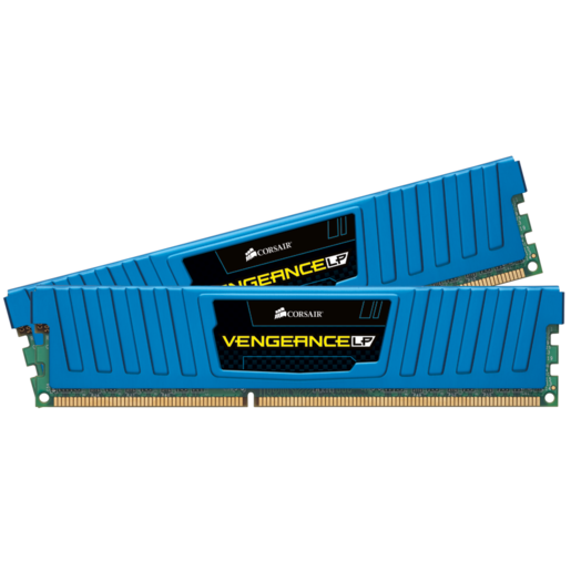 Vengeance® Low Profile Blue — 4GB Dual Channel DDR3 Memory Kit