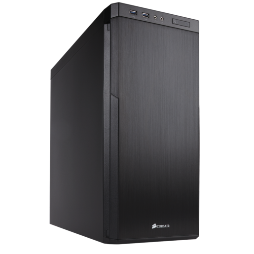 Carbide Series™ 330R Blackout Edition Ultra-Silent Mid-Tower Case