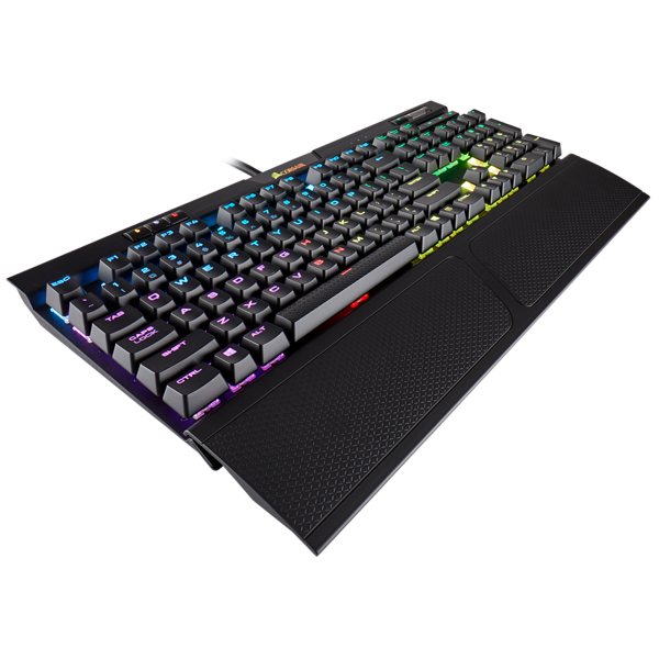 K70 RGB MK.2 Mechanical Gaming Keyboard — CHERRY® MX Silent (ES)