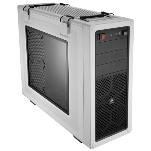 VENGEANCE® C70 Mid-Tower Gaming Case — Arctic White (Refurbished)