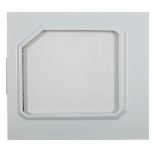 SPEC-ALPHA Left Side Panel, White, Windowed
