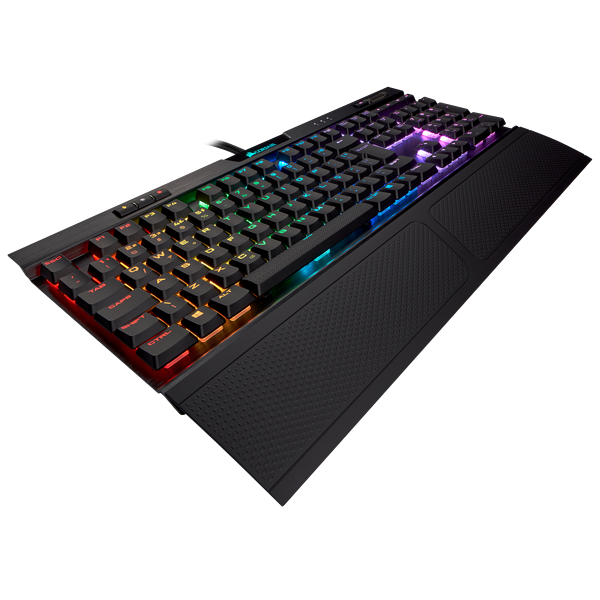 K70 RGB MK.2 Low Profile RAPIDFIRE Mechanical Gaming Keyboard — CHERRY® MX Low Profile Speed (BR)
