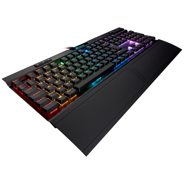 K70 RGB MK.2 Low Profile RAPIDFIRE Mechanical Gaming Keyboard — CHERRY® MX Low Profile Speed (ND)