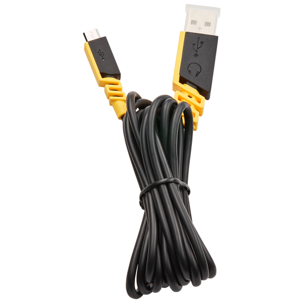 VOID PRO Wireless USB Charging Cable, Yellow
