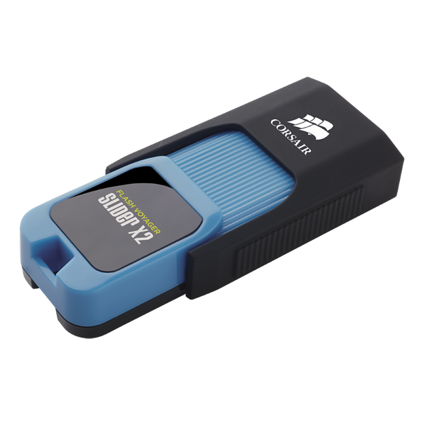 Flash Voyager® Slider X2 USB 3.0 64GB 闪存驱动器