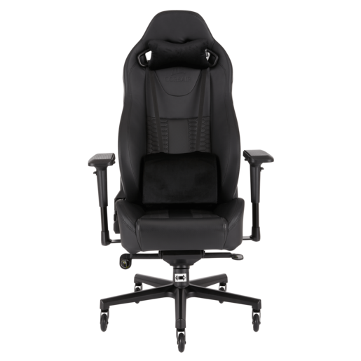 CORSAIR T2 ROAD WARRIOR Gaming Chair — Black/Black