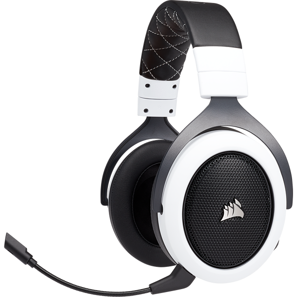 HS70 WIRELESS GAMING-HEADSET – Weiß