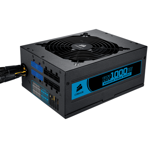 Professional Series™ HX1000 – 80 PLUS® Certified Modular Power Supply