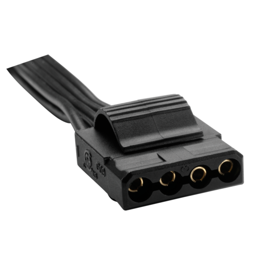 AX Series™ Molex peripheral cable with 4 connectors compatible with AX650, AX750, and AX850