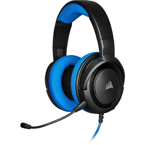 HS35 Stereo Gaming Headset — Blue (AP)