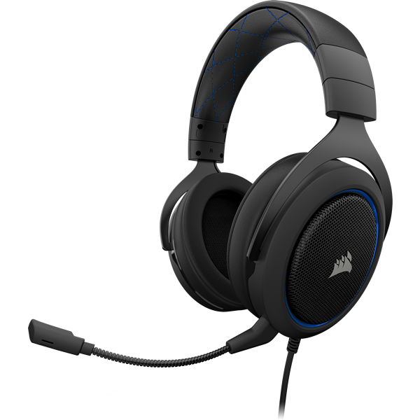 HS50 Stereo Gaming Headset — Blue