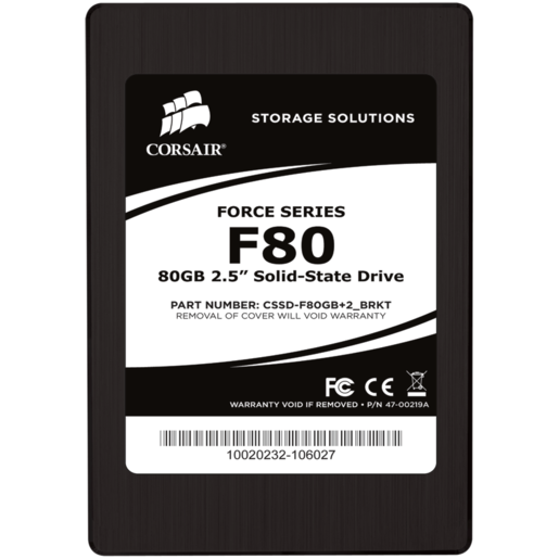 Force Series™ F80 Solid-State Hard Drive