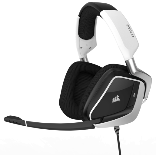 VOID PRO RGB USB Premium Gaming Headset with Dolby® Headphone 7.1 — White (AP)