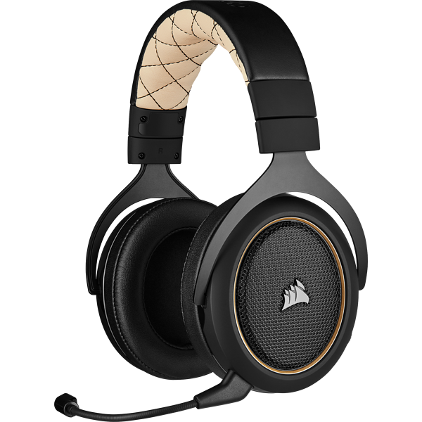 Cuffia gaming con microfono HS70 PRO WIRELESS - Cream (EU)