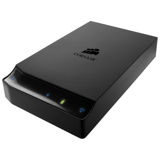Voyager Air™ 2 Plus Mobile Wireless Storage with Ethernet 1 TB