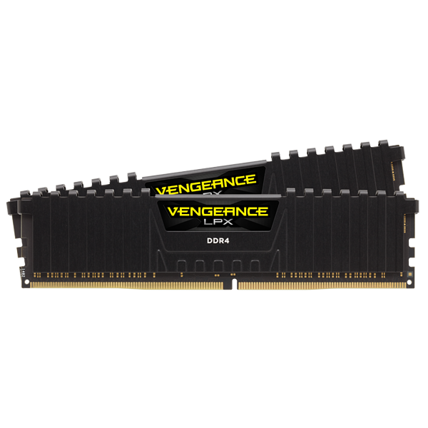 VENGEANCE® LPX 64GB (2 x 32GB) DDR4 DRAM 3000MHz C16 Memory Kit - Black