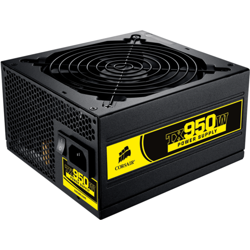 Enthusiast Series™ TX950 — 80 PLUS® Bronze Certified Power Supply
