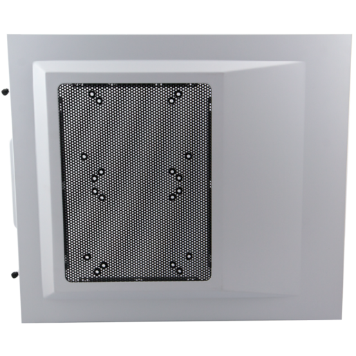 Carbide 500R Case - Left Side Panel (Arctic White, side panel, left, with fan holes for 120mm and 140mm fans)