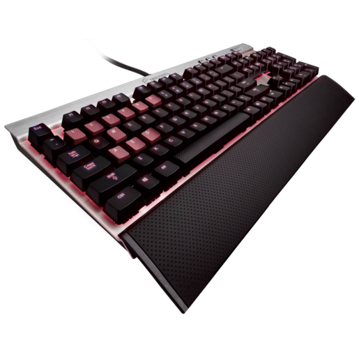 VENGEANCE® K70 Special Edition Mechanical Gaming Keyboard Silver — CHERRY® MX Red (UK)