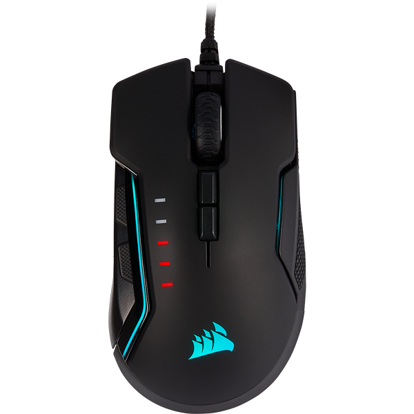 GLAIVE RGB PRO Gaming Mouse — Aluminum