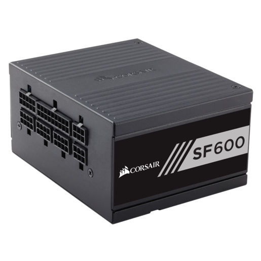 SF Series™ SF600 — 600 Watt 80 PLUS® Gold Certified High Performance SFX PSU (UK)