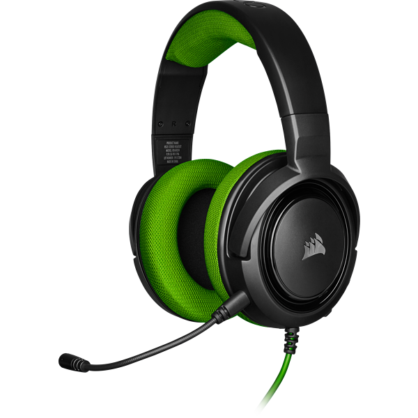 HS35 Stereo Gaming Headset – Green