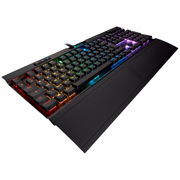 Clavier gaming mécanique K70 RGB MK.2 Low Profile RAPIDFIRE – CHERRY® MX Low Profile Speed