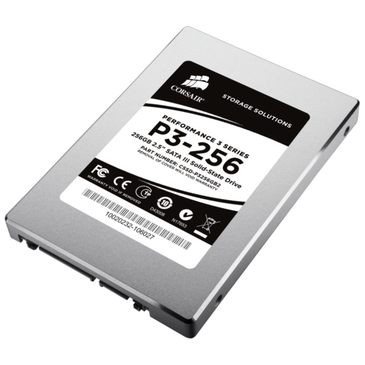 Performance 3 Series™ P3-256 Solid-State Hard Drive