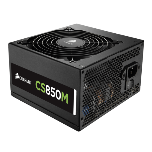 CS Series™ Modular CS850M — 850 Watt 80 PLUS® Gold Certified PSU (NA) (Refurbished)