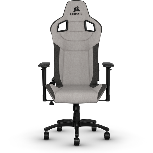 T3 RUSH Gaming Chair — Grey/Charcoal (UK)